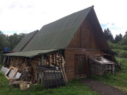 Продается жилой дом с баней на участке 25 соток в деревне Каменка (ж/д Уваровка), Можайский район, 130 км от МКАД по Минскому шоссе.