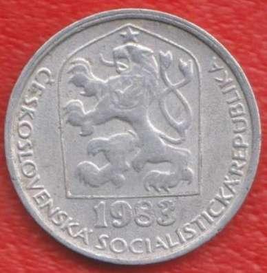 Чехословакия 10 геллеров 1983 г.