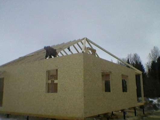 Построим каркасный дом
