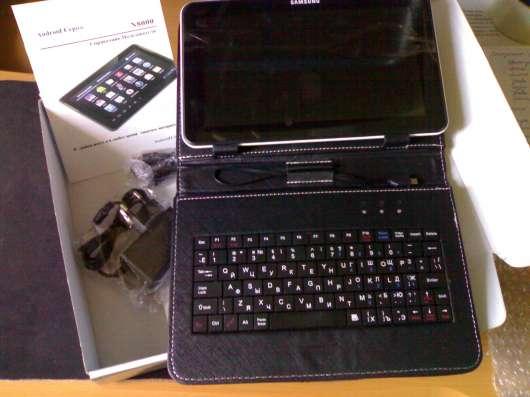 """Корейский планшет Samsung 10"""" с клавиатурой-или меняю"""