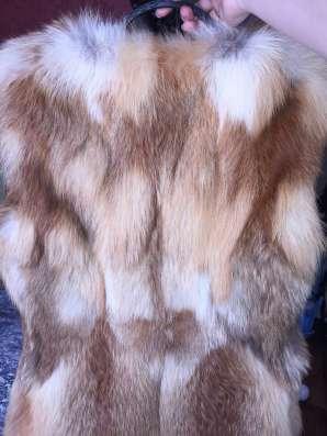 Меховой Жилет из Лисы в Ставрополе Фото 2