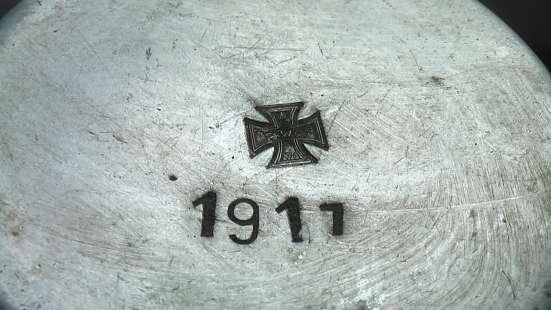 Кружки алюминиевые немецкие 1 Мировая война в Саратове Фото 3