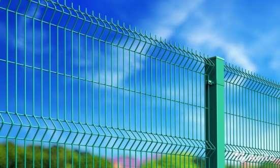 3D Забор, 3Д сварная панель 2030x2500x4мм