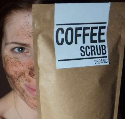 Кофе скраб coffeе skrub для тела и лица