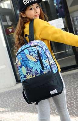 Рюкзак городской с яркими листьями в г. Запорожье Фото 3
