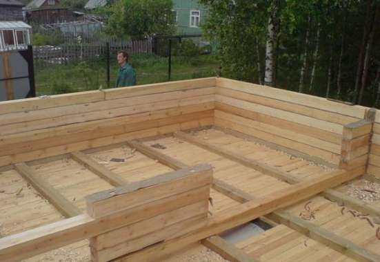 Строительство домов из бруса в г. Вологда Фото 1