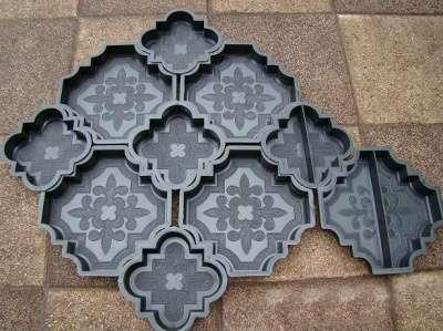формы для тротуарной плитки и декоративн  56