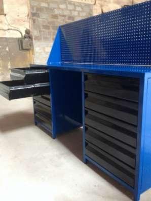Столы-верстаки металлические Металлпрогресс-сервис Стол-верстак