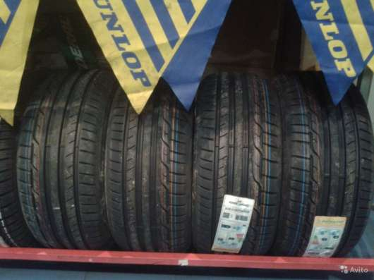 Новые Dunlop 215 55 R16 Sport Maxx RT MFS XL