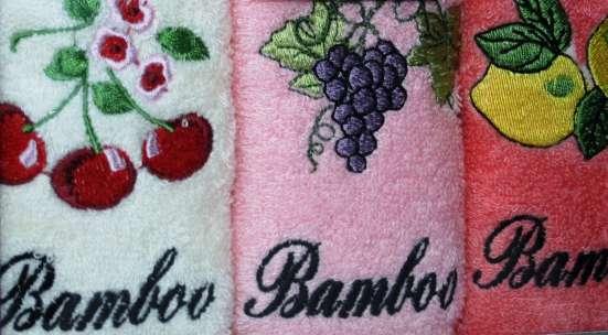 Бамбуковые полотенца новые в Челябинске Фото 1