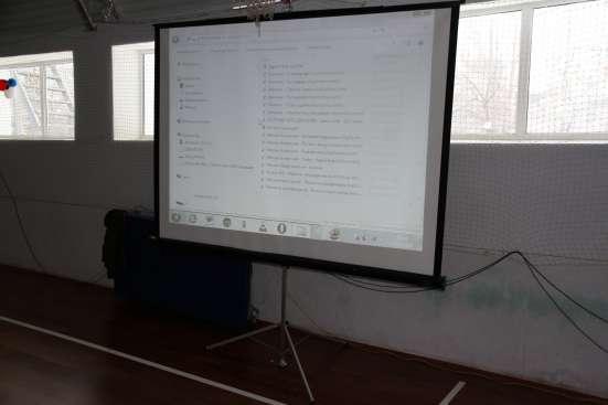 Проектор, экран в аренду в г. Самара Фото 1