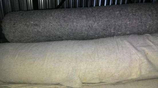 Холстопрошивное полотно (ХПП), цв. серый , белый