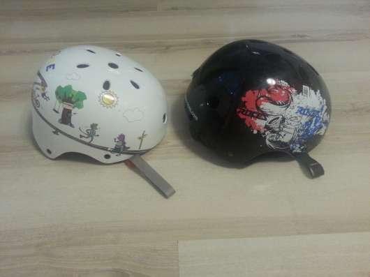 Шлемы для катания на роликах, скейте и т. д