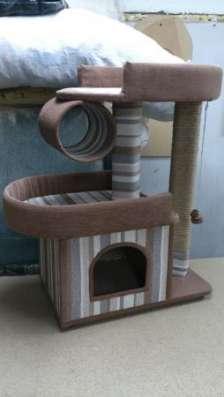 Домик для кота, кошки, котёнка с когтеточкой
