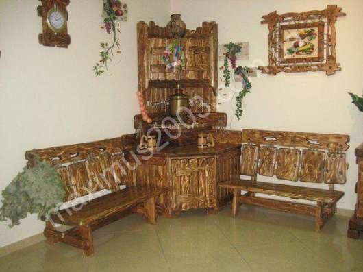 Мебель из массива сосны состаренная в Екатеринбурге Фото 1