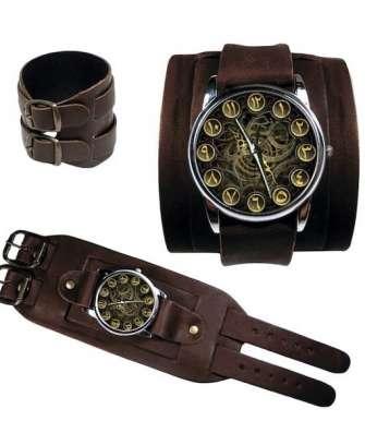 Арабские часы с отображением механизма