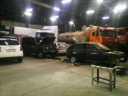 Автосервис грузовиков