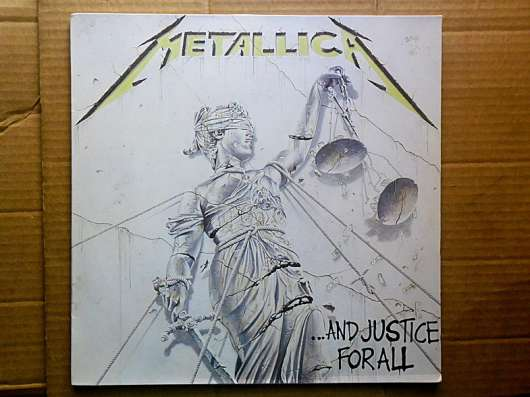 Metallica -.And Justice For All