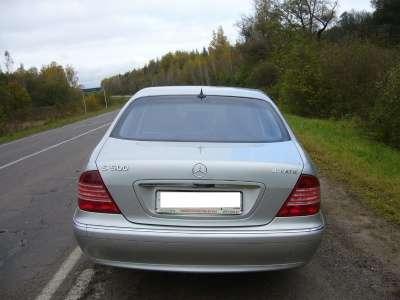 Подержанный автомобиль Mercedes S 350 4MATIC длинная