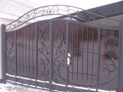 Ворота под индивидуальный заказ в г. Самара Фото 1