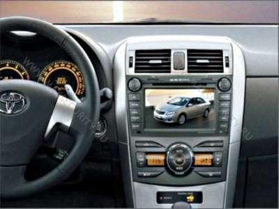 Штатная автомагнитола для Тoyota COROLLA 2006-2012г