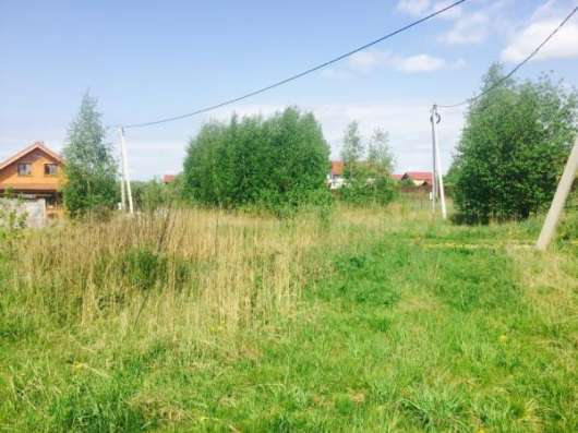 Продается земельный участок 12 соток в дер. Лубенки, Можайского р-на, 107 км от МКАД по Минскому шоссе.