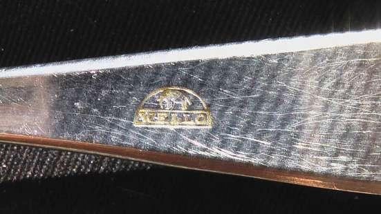Ложки и вилки старинные клейма