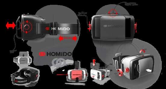 Шлем виртуальной реальности Homido для смартфонов