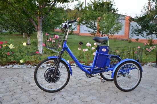 Электровелосипед трехколесный