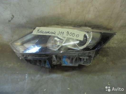 Фара левая на Nissan Qashqai J11