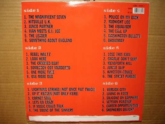 Пластинка виниловая The Clash - Sandinista