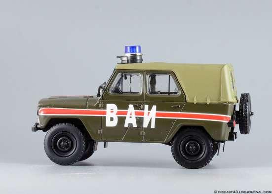 автомобиль на службе №8 Уаз-469 ВАИ в Липецке Фото 3