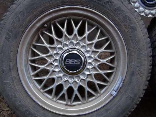 Диски автомобильные BBS (Германия) литые с заглушкой гаек в Саратове Фото 3