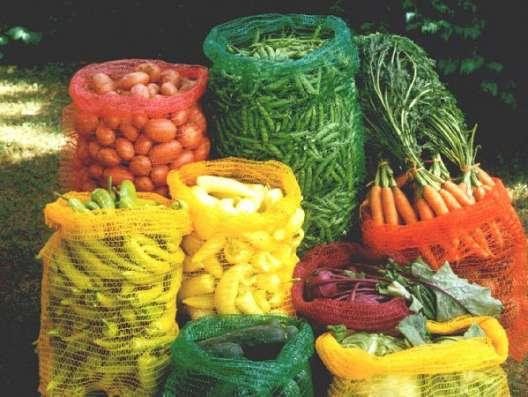 Сетки овощные и мешки полипропиленовые оптом из Китая