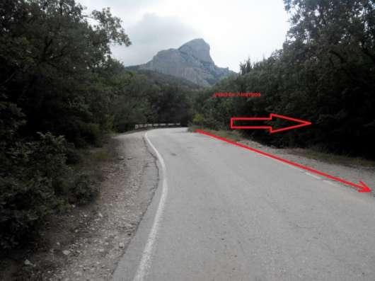 Ровный участок в Ласпи с асфальтированным подъездом
