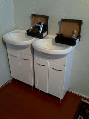 Тумбы, раковины, смесители для ванной крмнаты