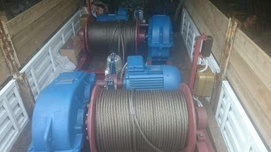 Лебедка маневровая электрическая ЛМ-2 с тросом