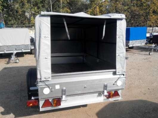 Автомобильный прицеп Трейлер 2,0х1,1м для перевозки различных грузов в Москве Фото 5