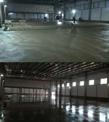 Промышленные бетонные полы, Полимерные полы