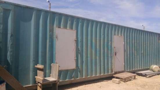Морской контейнер утепленный 2 х комнатный