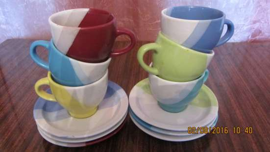 Продам набор кофейных чашек