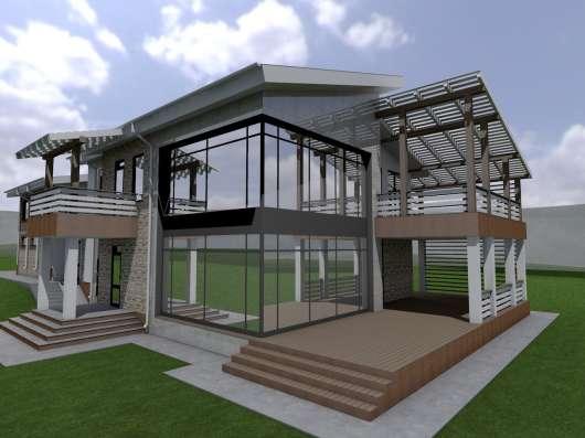 Проектирование коттеджей, загородных домов