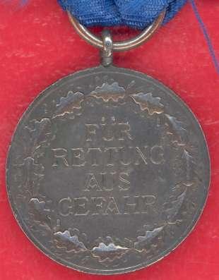 Германия Медаль За спасение из опасности