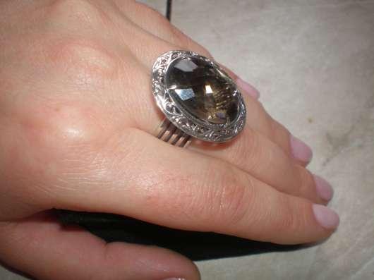 Авторское серебряное кольцо с раухтопазом в г. Харьков Фото 6