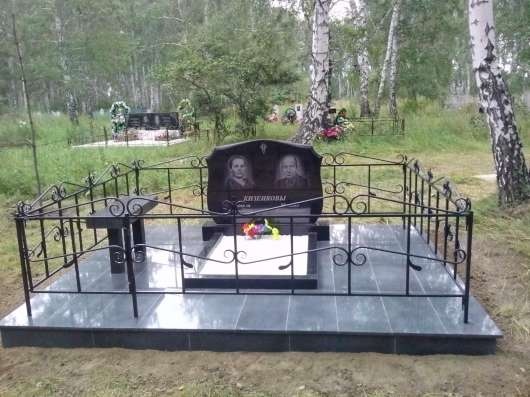 Благоустройство мест захоронений в Барнауле Фото 1