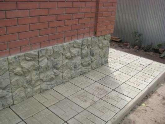 Тротуарная плитка 300х300х30