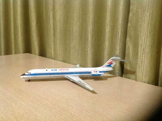 Модель самолёта DC-9-41 в Иркутске Фото 1