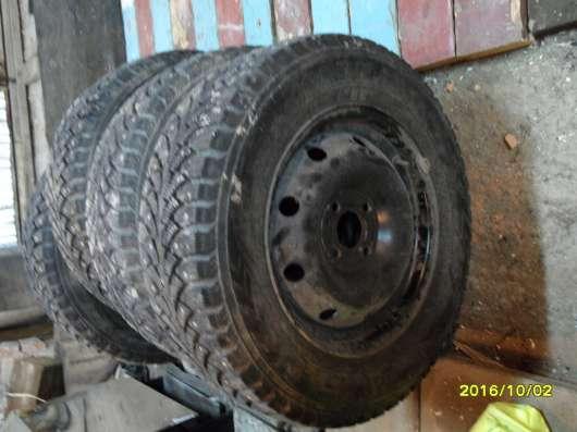 Резина с дисками на Рено логан в г. Ухта Фото 1