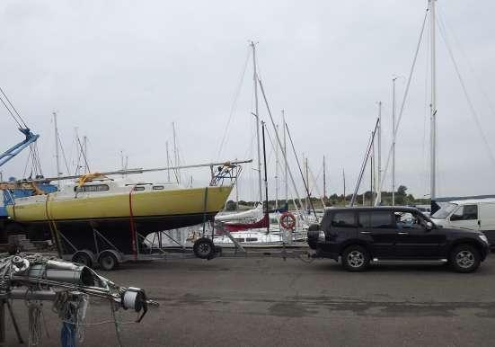 Транспортировка катеров, килевых яхт в г. Керчь Фото 4