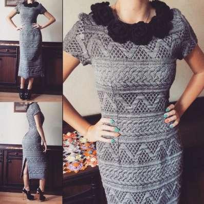 Тёплое элегантное платье